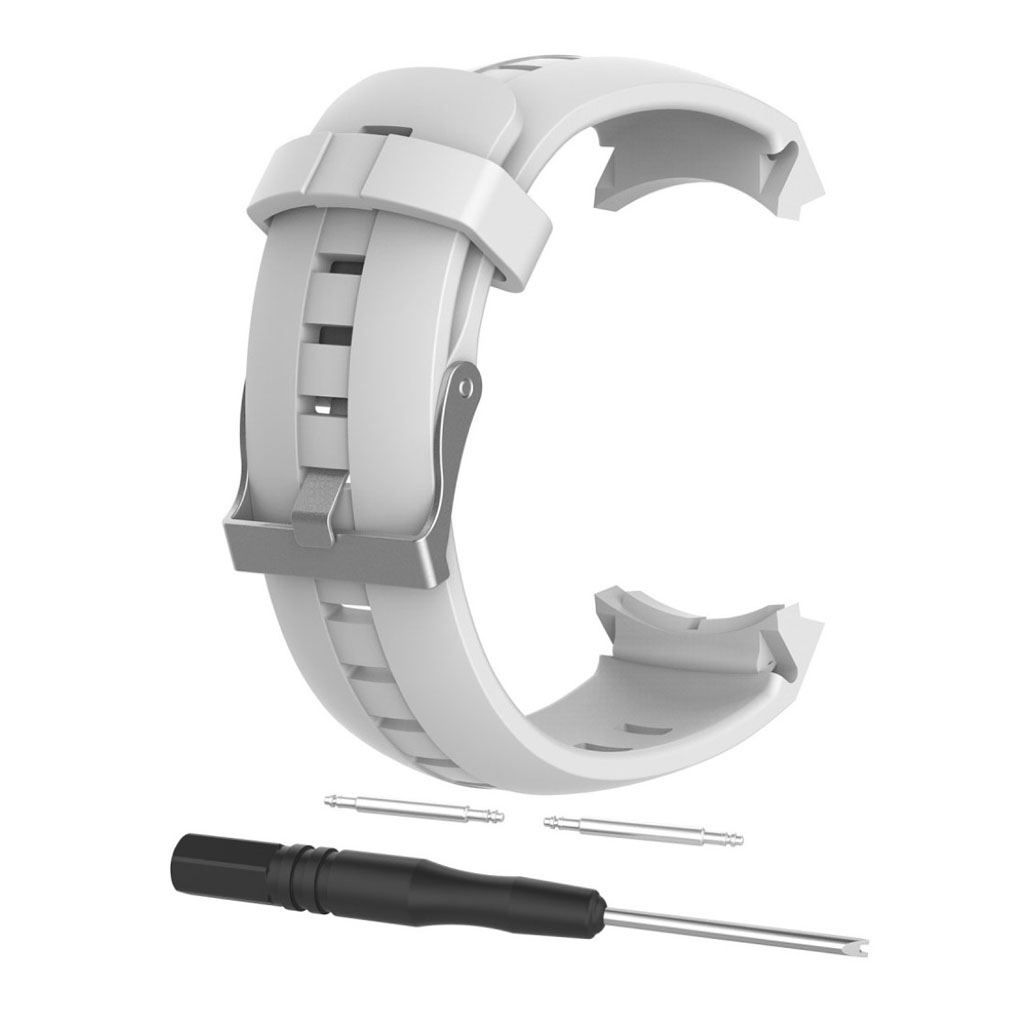 Image of   Suunto Spartan Sport silicone watch strap - White