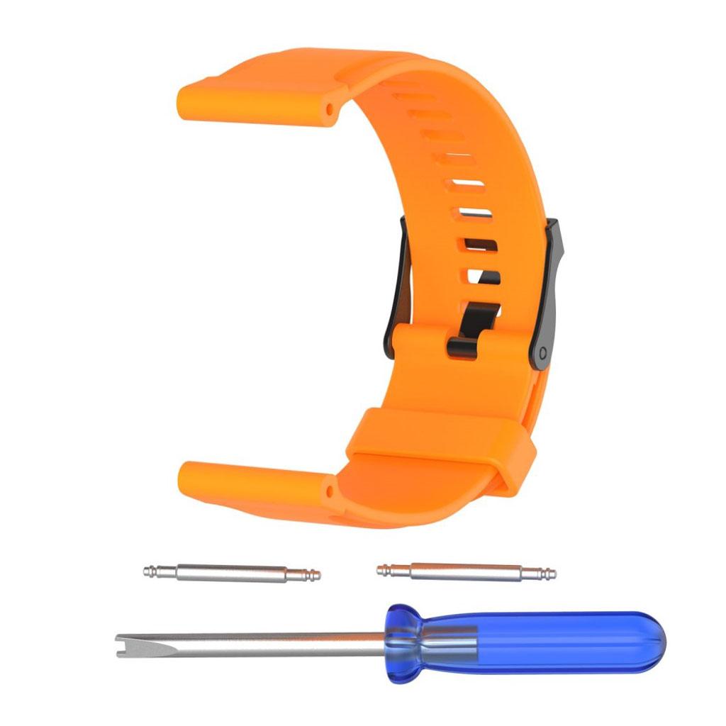 Image of   Suunto Traverse silicone sports watcband- Orange