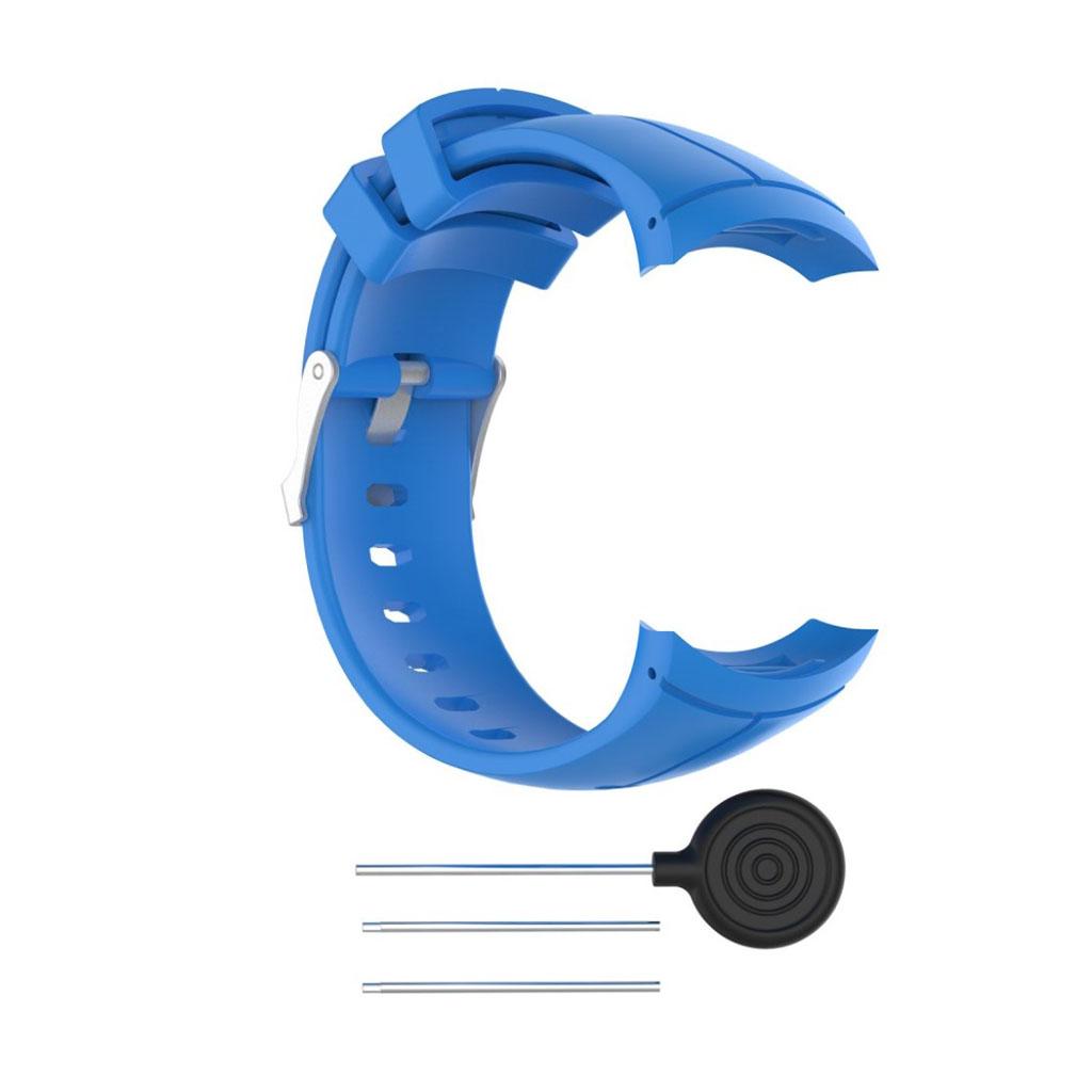 Image of   Suunto Spartan Ultra soft silicone watch strap - Blue