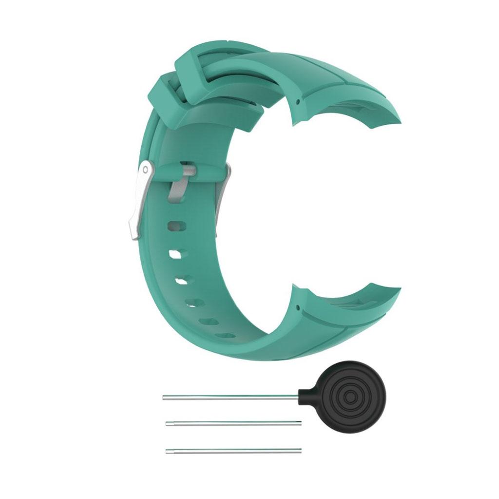 Image of   Suunto Spartan Ultra soft silicone watch strap - Cyan