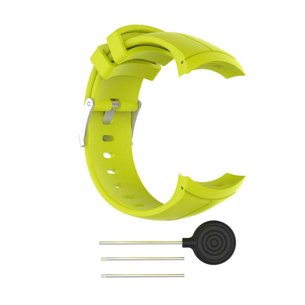 Image of   Suunto Spartan Ultra soft silicone watch strap - Green