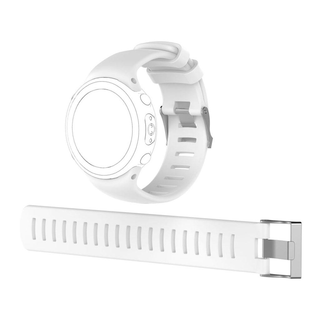 Image of   Suunto D4i Novo flexible soft silicone watchband - White
