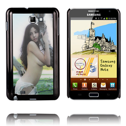 Image of   3D Effect (Hot Pige) Samsung Galaxy Note Cover