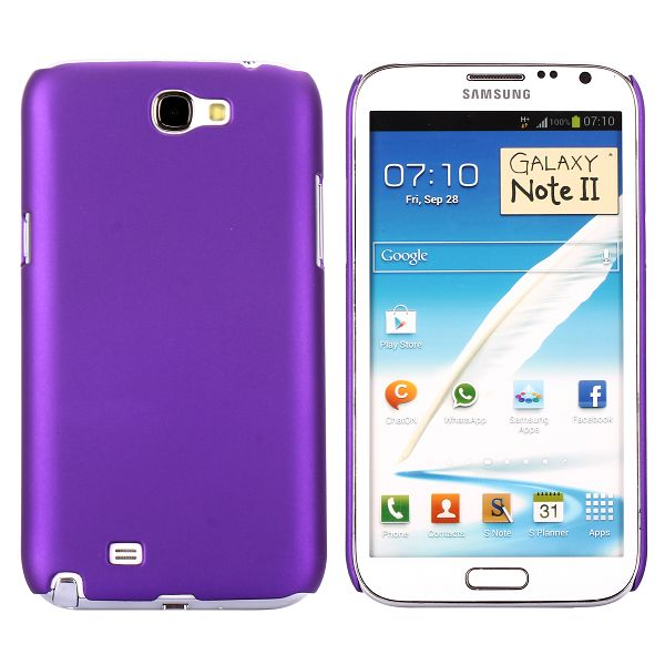 Hard Shell (Lilla) Samsung Galaxy Note 2 Cover