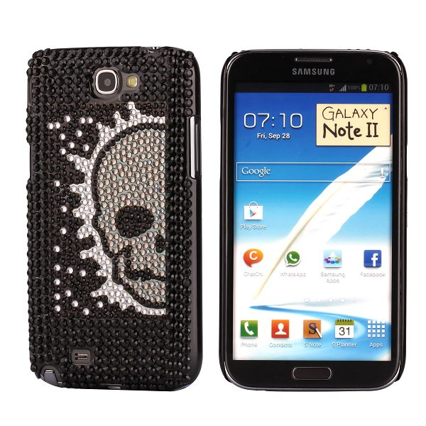 Paris (Ver. 9) Samsung Galaxy Note 2 Bling Cover
