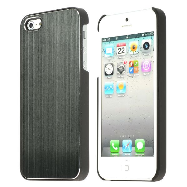 Image of   Alu Shield (Grå) iPhone 5 Cover