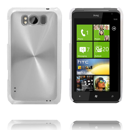 Image of   Aluminiums Shield (Sølv) HTC Titan Cover