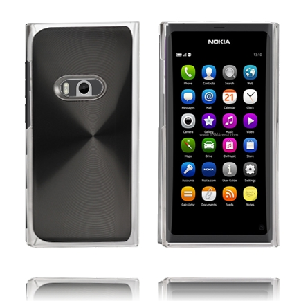 Image of   Aluminium Shield (Sort) Nokia N9 Cover