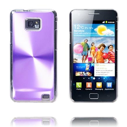 Image of   Aluminiums Shield (Lilla) Samsung Galaxy S 2 Cover