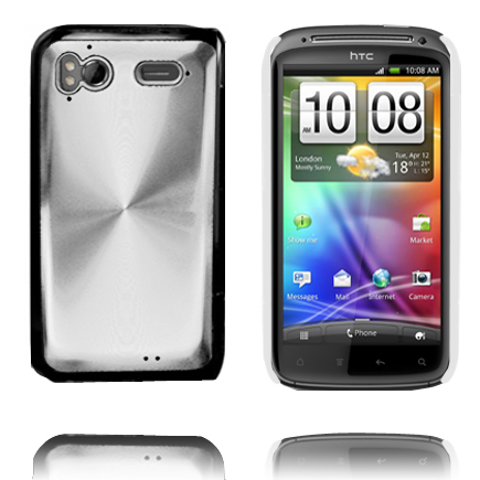 Image of   Aluminiums Shield (Sølv) HTC Sensation Cover