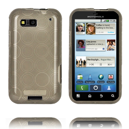 Image of   Amazona (Grå) Motorola Defy Cover