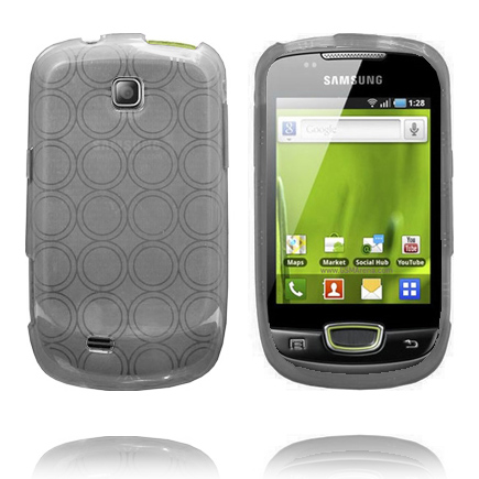 Image of   Amazona (Grå) Samsung Galaxy Mini S5570 Cover