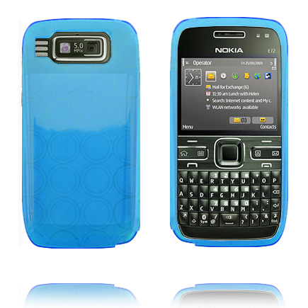 Image of   Amazona (Lyseblå) Nokia E72 Cover
