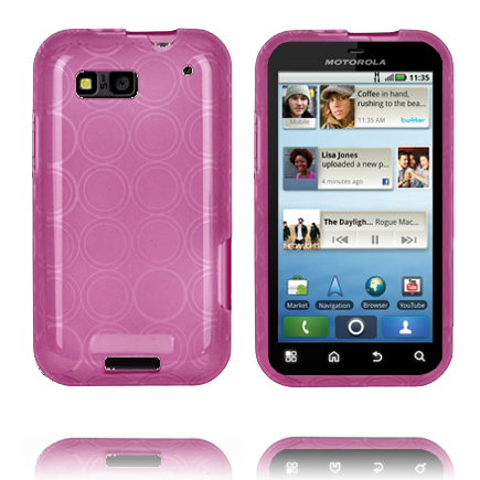 Image of   Amazona (Lilla) Motorola Defy Cover