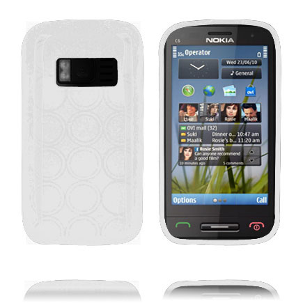 Image of   Amazona (Hvid) Nokia C6-01 Cover