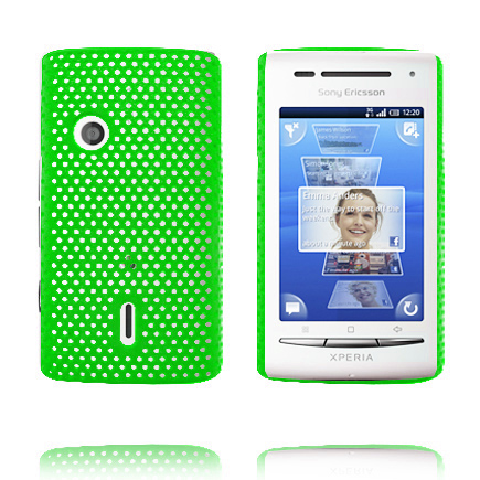 Image of   Atomic (Grøn) Sony Ericsson Xperia X8 Cover