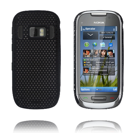 Image of   Atomic (Sort) Nokia C7 Cover