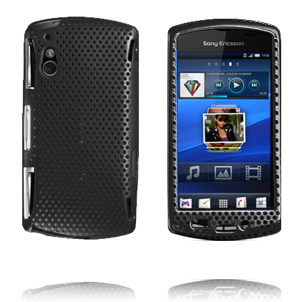 Image of   Atomic (Sort) Sony Ericsson Xperia Play Cover
