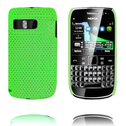 Image of   Atomic (Grøn) Nokia E6 Cover