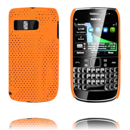 Image of   Atomic (Orange) Nokia E6 Cover