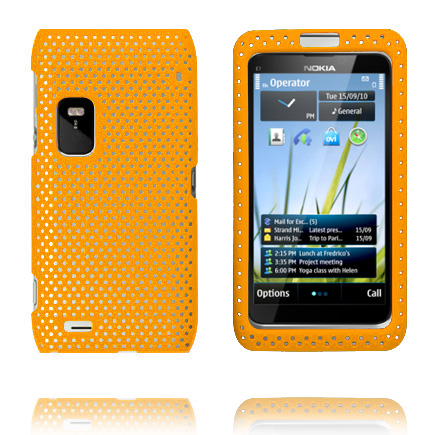 Image of   Atomic (Orange) Nokia E7 Cover