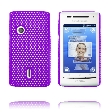 Image of   Atomic (Lilla) Sony Ericsson Xperia X8 Cover