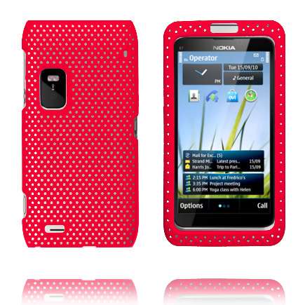 Image of   Atomic (Rød) Nokia E7 Cover