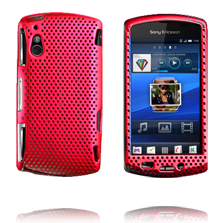 Image of   Atomic (Rød) Sony Ericsson Xperia Play Cover