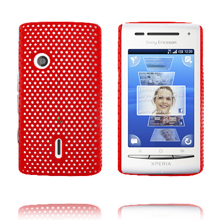 Image of   Atomic (Rød) Sony Ericsson Xperia X8 Cover