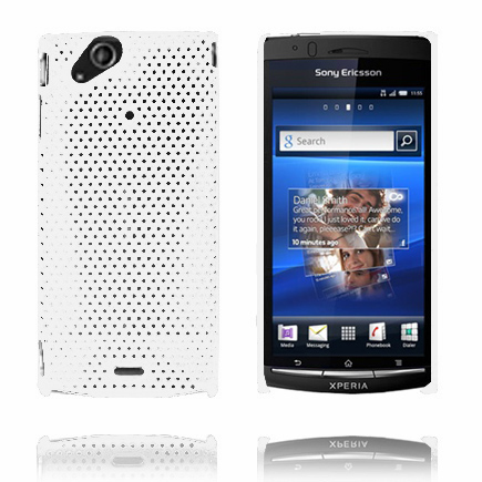 Image of   Atomic (Hvid) Sony Ericsson Xperia Arc Cover