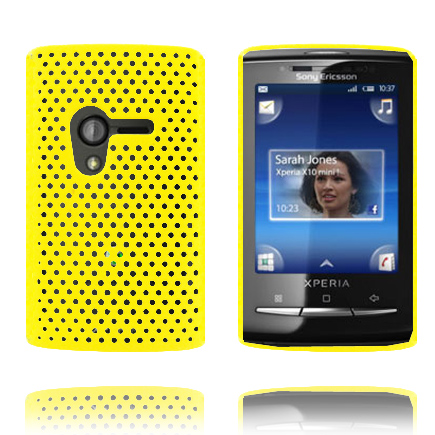 Image of   Atomic (Gul) Sony Ericsson Xperia X10 Mini Cover