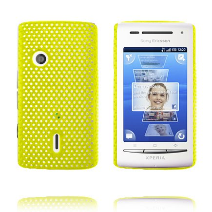 Image of   Atomic (Gul) Sony Ericsson Xperia X8 Cover