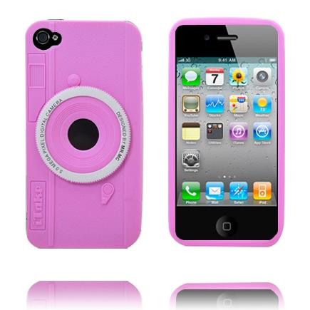Kamera Deksel (Rosa) iPhone 4 Deksel
