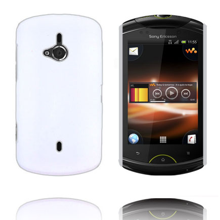 Image of   Hard Shell (Hvid) Sony Ericsson Live Cover