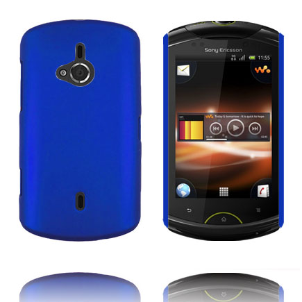 Image of   Hard Shell (Blå) Sony Ericsson Live Cover