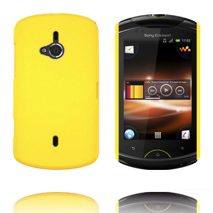 Image of   Hard Shell (Gul) Sony Ericsson Live Cover
