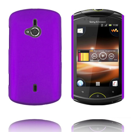 Image of   Hard Shell (Lilla) Sony Ericsson Live Cover