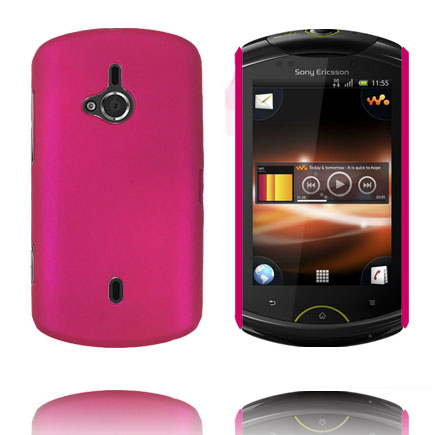 Image of   Hard Shell (Hot Pink) Sony Ericsson Live Cover