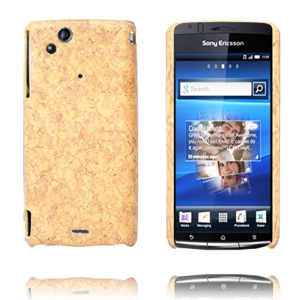 Image of   Cork (Lysebrun) Sony Ericsson Xperia Arc Cover