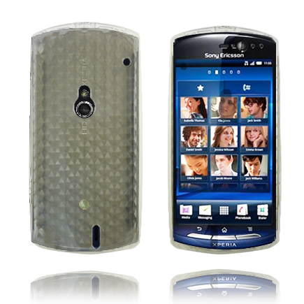 Image of   Cubes (Gennemsigtig) Sony Ericsson Xperia Neo Cover