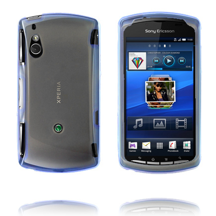 Image of   Fusion (Blå) Sony Ericsson Xperia Play Cover