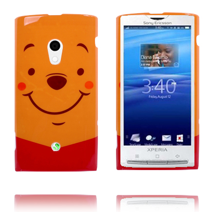 Image of   Glad Tegnefilm (Orange) Sony Ericsson Xperia X10 Cover