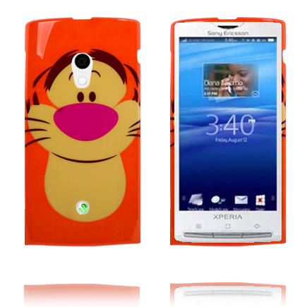 Image of   Glad Tegnefilm (Tiger) Sony Ericsson Xperia X10 Cover