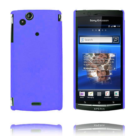 Image of   Hard Shell (Blå) Sony Ericsson Xperia Arc Cover