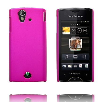 Image of   Hard Shell (Hot Pink) Sony Ericsson Xperia Ray Cover