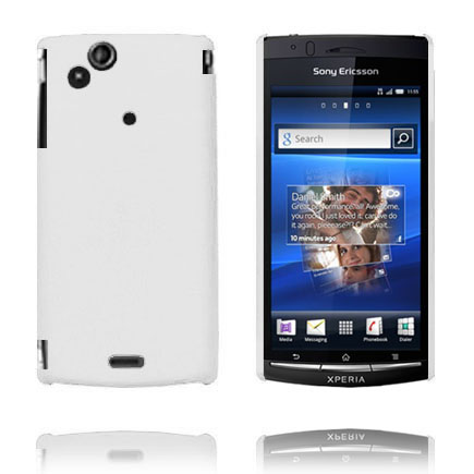 Image of   Hard Shell (Hvid) Sony Ericsson Xperia Arc Cover