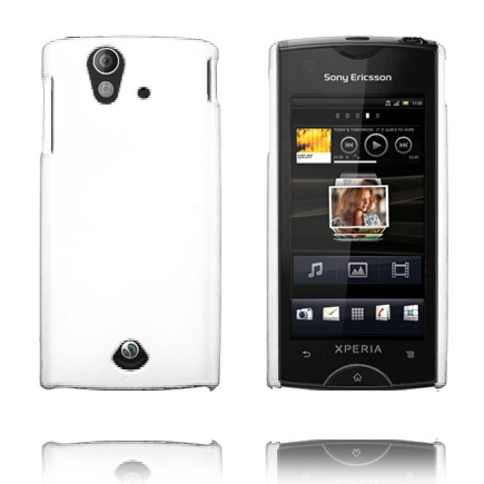 Image of   Hard Shell (Hvid) Sony Ericsson Xperia Ray Cover