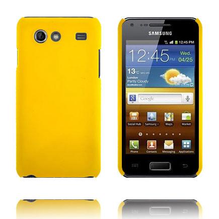 Hard Shell (Gul) Samsung Galaxy S Advance Cover