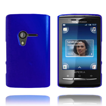 Image of   Hard Shell (Blå) Sony Ericsson Xperia X10 mini Cover