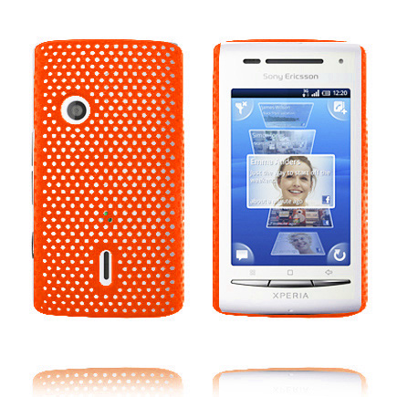 Image of   Atomic (Orange) Sony Ericsson Xperia X8 Cover